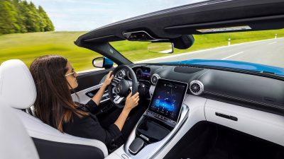 Begini Tampilan Interior New Mercedes-AMG SL, Lebih Sporty, Modern dan Canggih Plus Nyaman